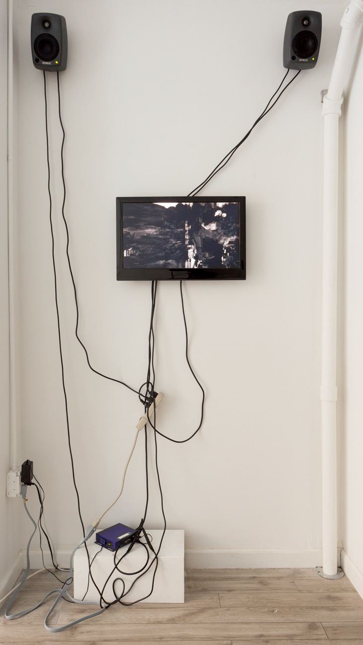Takeshi Murata, Untitled (Silver), 2006. Courtesy the artist and Electronic Arts Intermix (EAI), New York. The Limits of Control, Station Independent Projects, New York, 2016. Installation view.