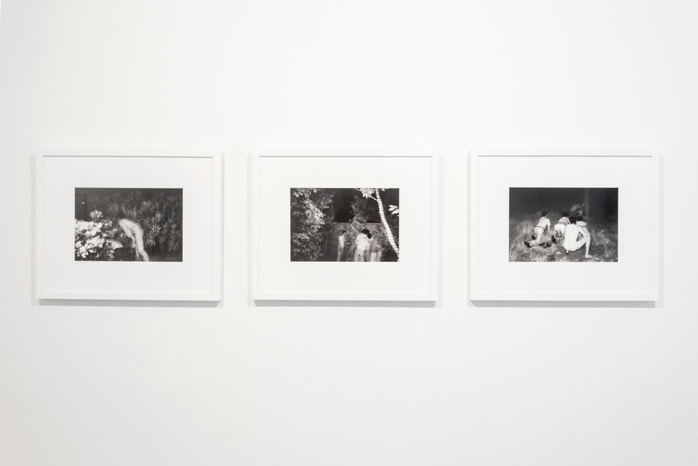 Kohei Yoshiyuki, from the series The Park, 1971-1979. Courtesy the artist and Yossi Milo Gallery, New York. The Limits of Control, Station Independent Projects, New York, 2016. Installation view.