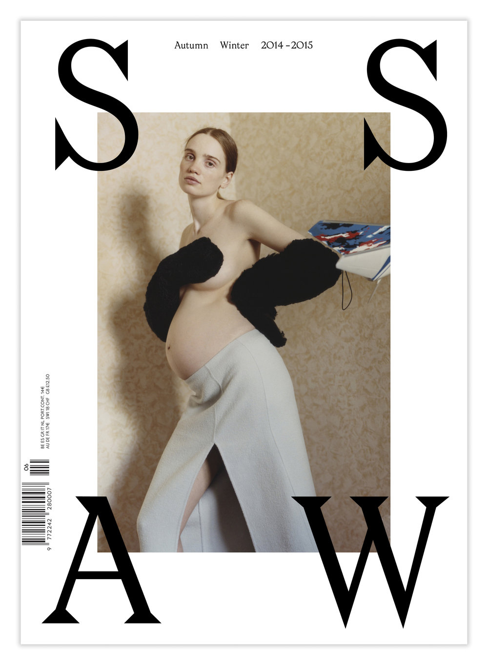 SSAW Autumn Winter 2014-2015. Photography by Harley Weir, styling Lotta Volkova. Courtesy of SSAW.