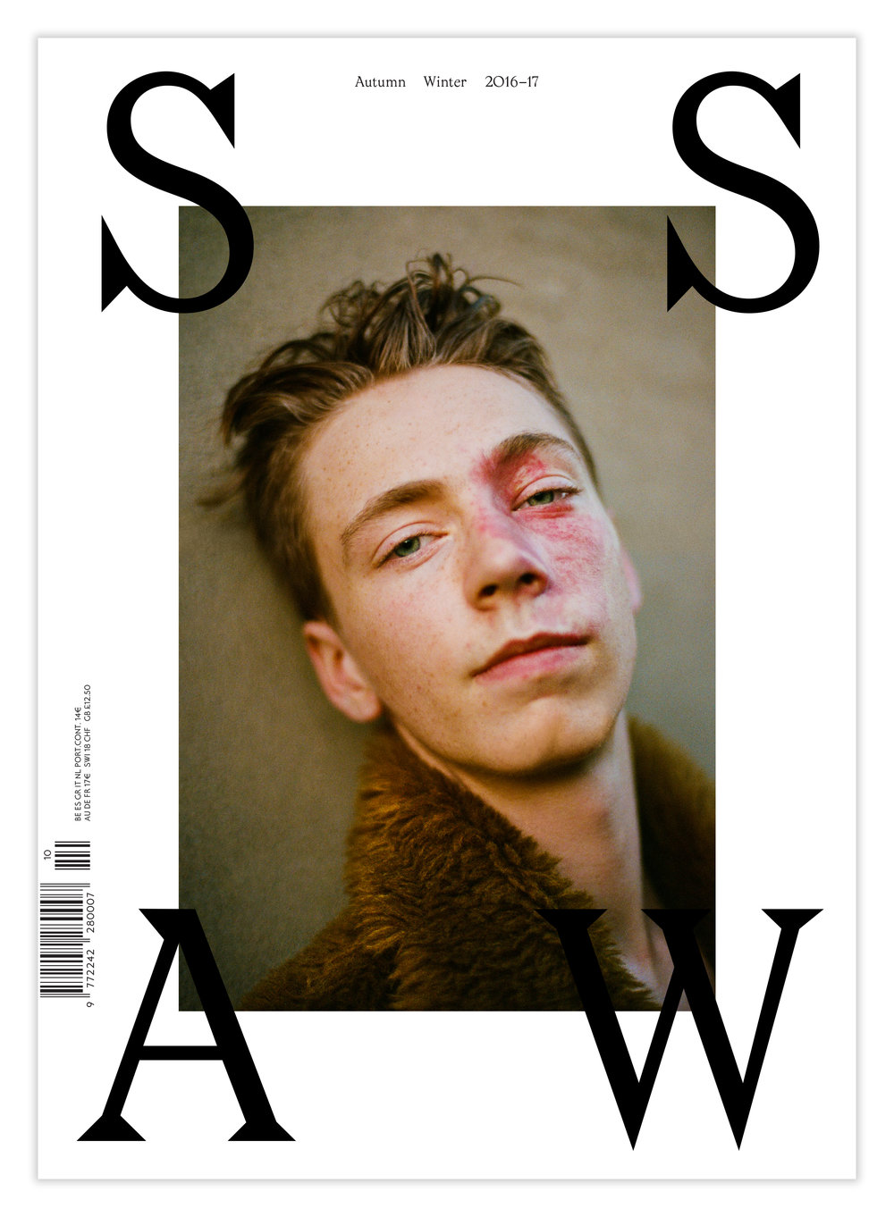 SSAW Autumn Winter 2016-2017. Photography by Matt Lambert, styling Tuomas Laitinen. Courtesy of SSAW.