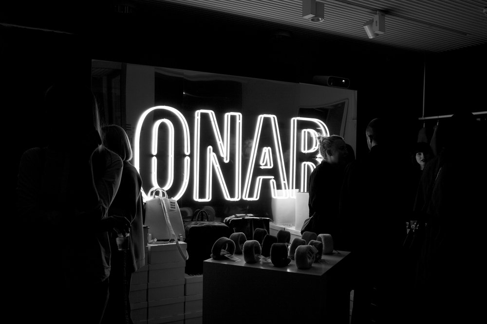 ONAR's flagship store was launched in the heart of Helsinki, in March 2016. Courtesy Irene Kostas