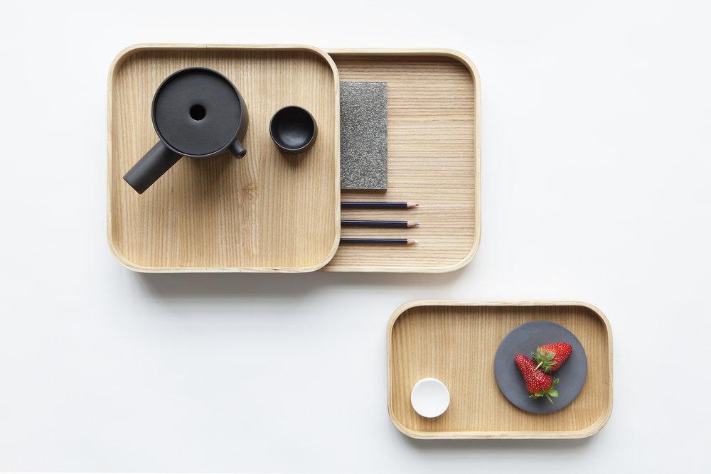 Kaksikko,  Ask Trays . Photo: Chikako Harada