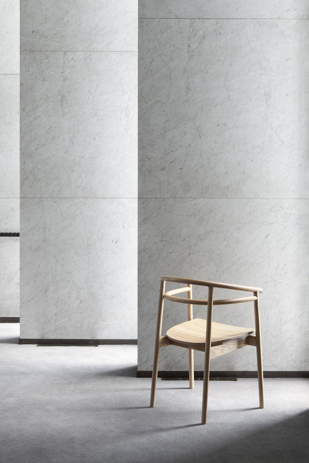 Kaksikko,  Korematsu Chair . Photo: Chikako Harada