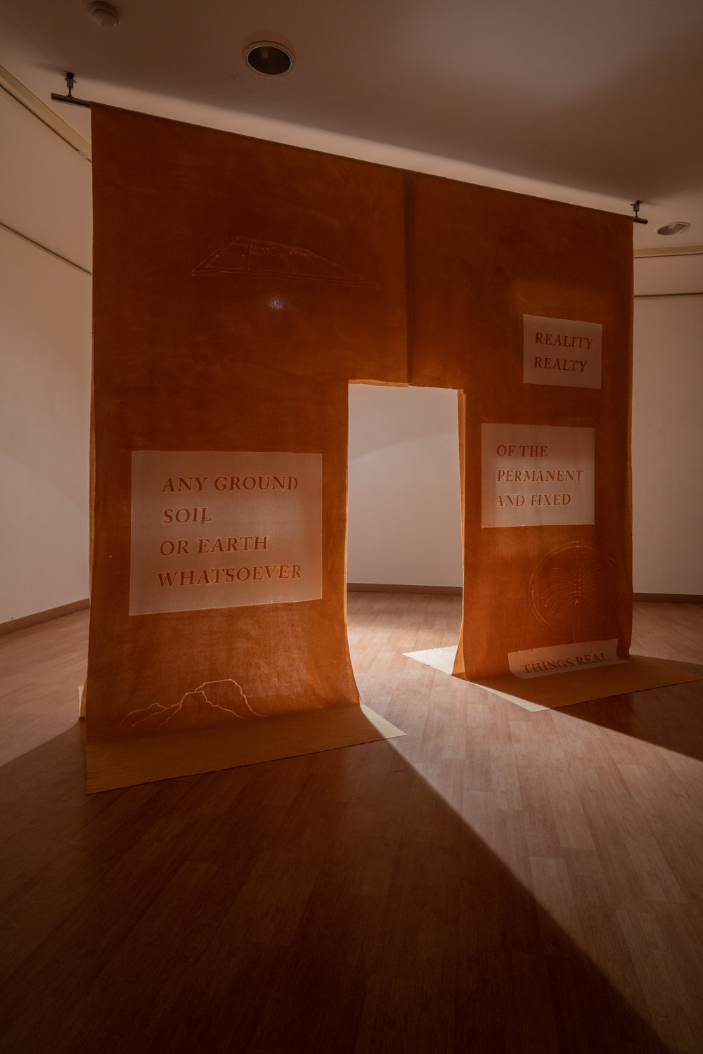 Elina Vainio,  The rights of things,    2018.  Fictional Frictions  group exhibition at the 2018 Gwangju Biennale, South Korea. Photo: Kim Doyun.