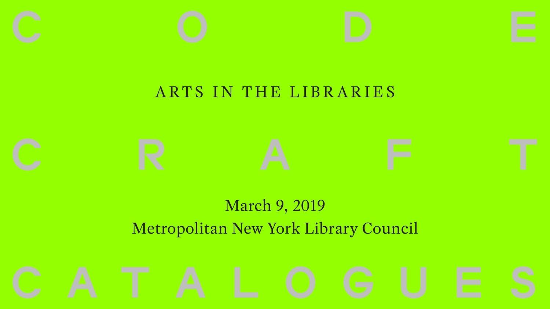 Finnish Cultural Institute in New York — Code, Craft