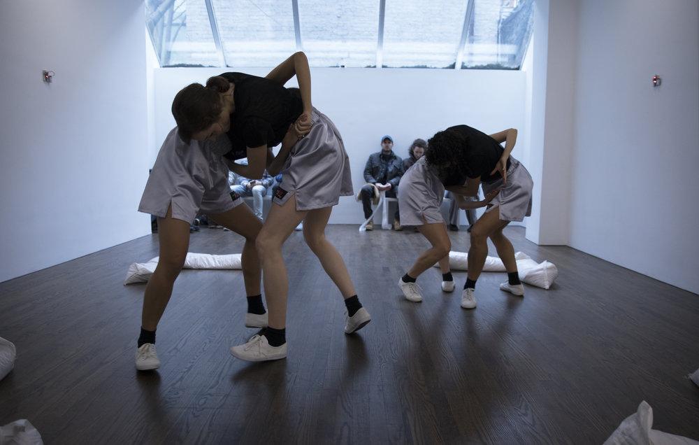 Madeline Hollander,  New Max , The Artist's Institute, 2018. Photo courtesy of the artist and The Artist's Institute.
