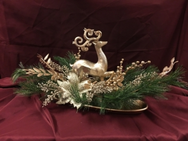 Item #4: Reindeer Centerpiece