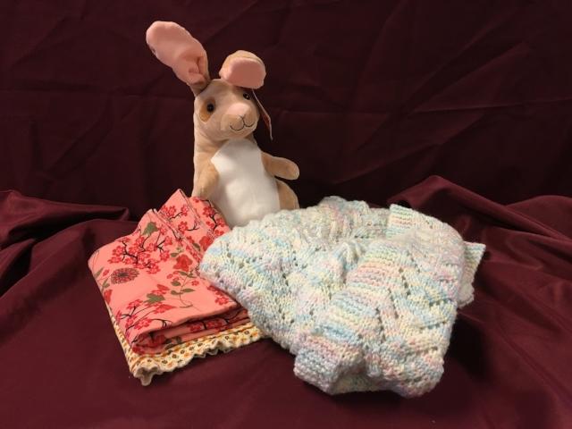 Item #7: Baby Quilt Set