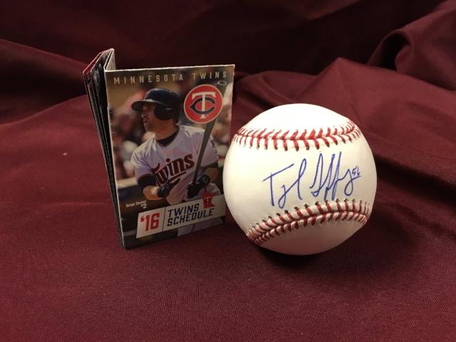 Item #9: Autographed Baseball