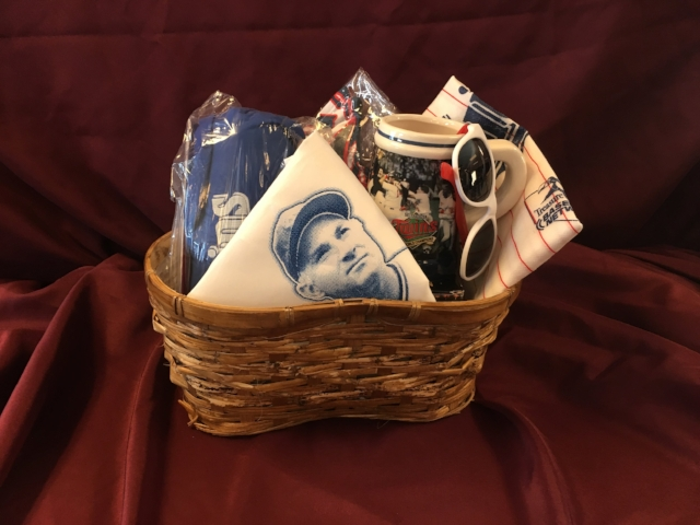 Item #22: Minnesota Twins Basket