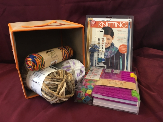 Item #28: Knitting Set