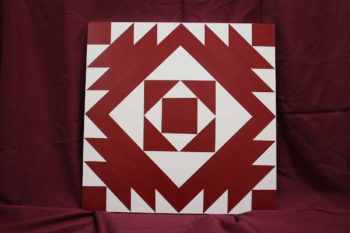 Item #2: Barn Quilt Square