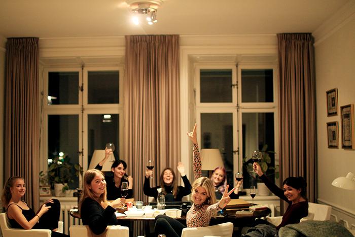 Saras  bild från vår första bokklubbsträff!!