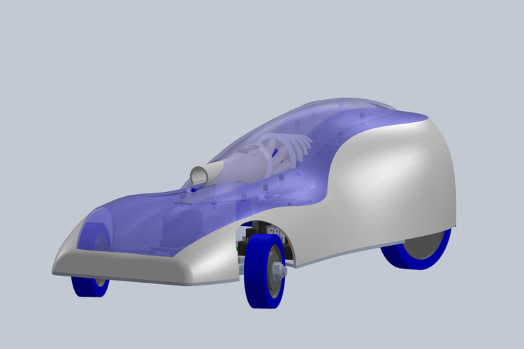 A CAD model of Bolt.