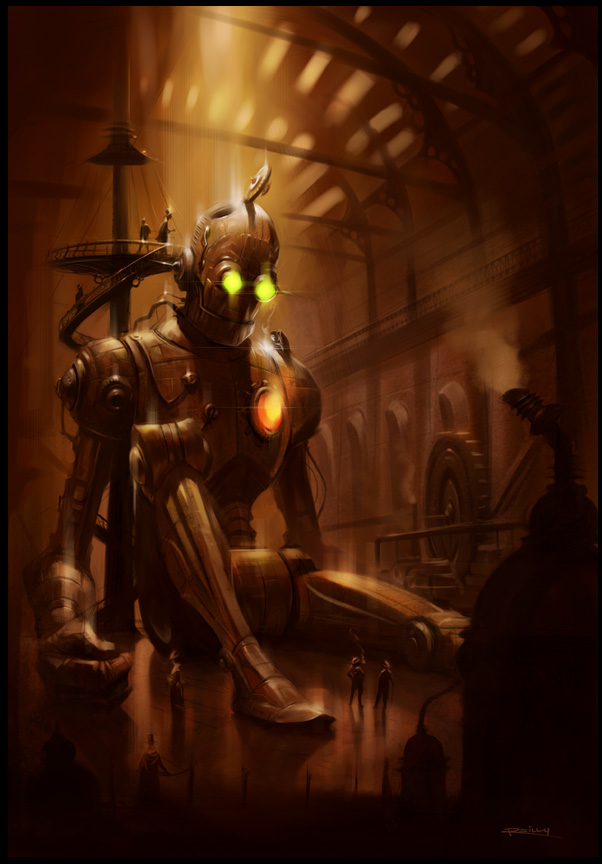 """Steampunk""  by  Patrick Reilly"