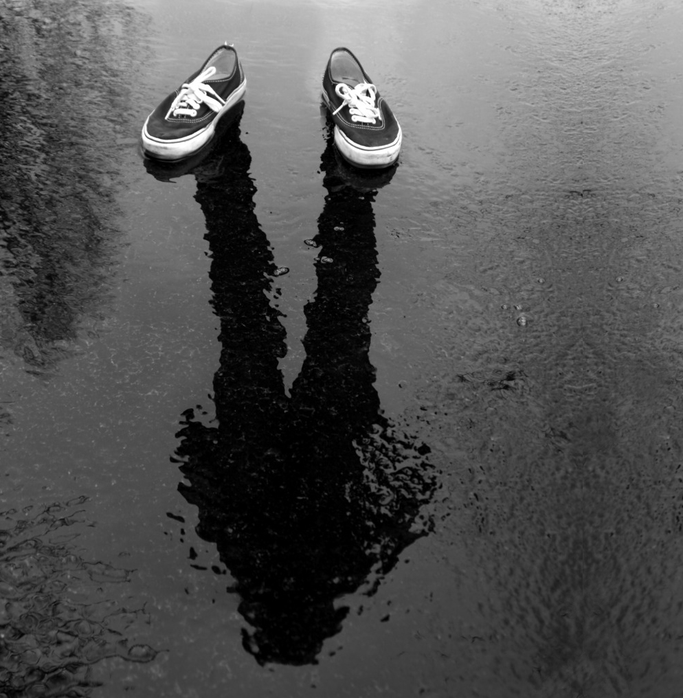 I may not walk in the same shoes I used to, but they still left an impression. They still cast their shadow.