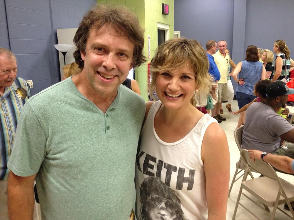 Bruce with Jennifer Nettles