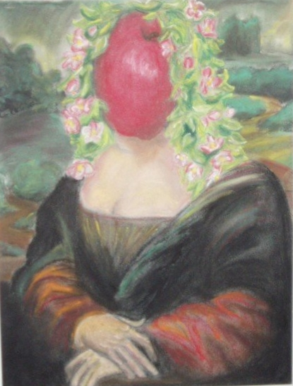 Mona Mela,   Apple series 1   Pastel on paper / 2007