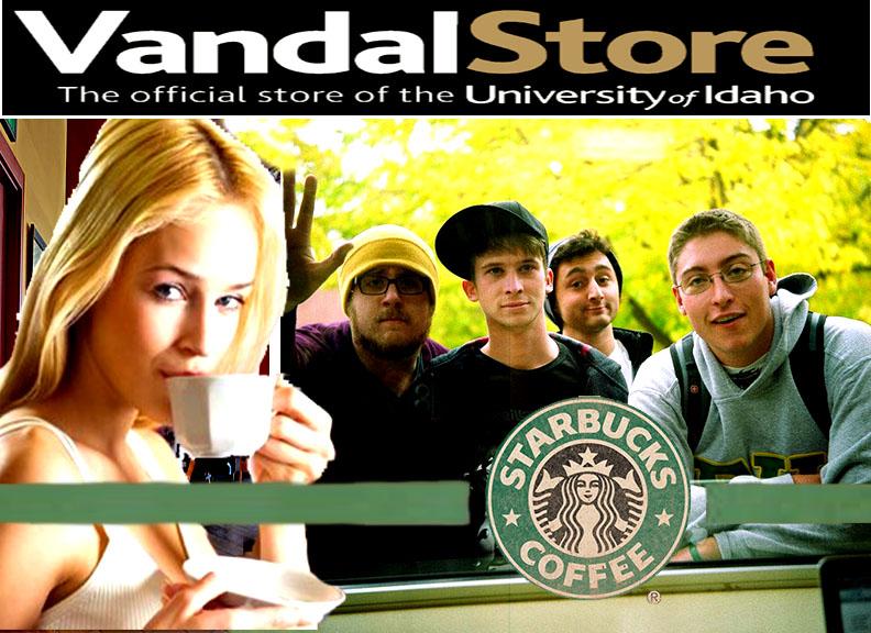 Vandal Starbucks