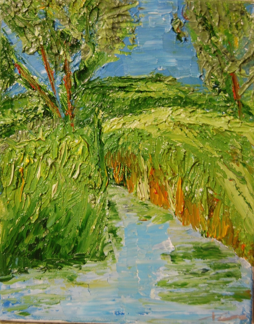 Minnesota Marsh   Oil / 2015