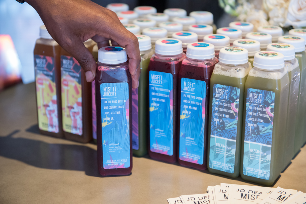 Our friends at Misfit Juicery hydrated our guests before we set off to explore the Anacostia Rive