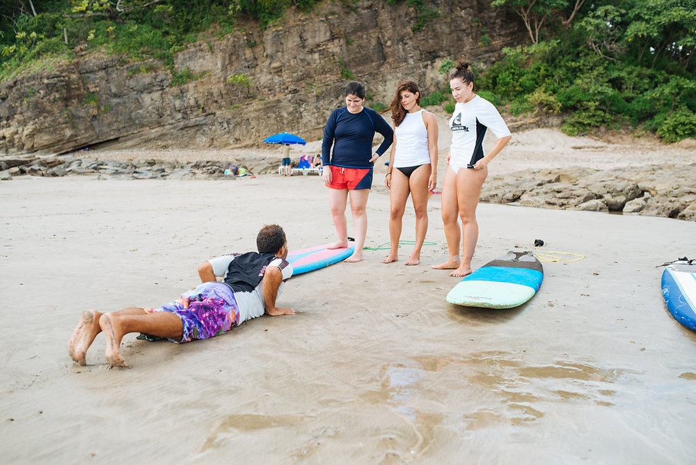 Learn to surf in San Juan del Sur