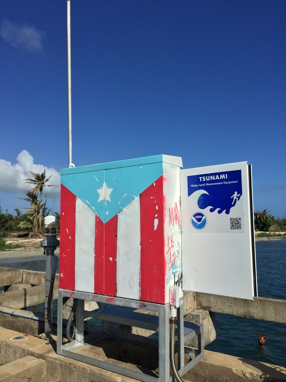 El Camino Travel Volunteers in Puerto Rico After Hurricane Maria