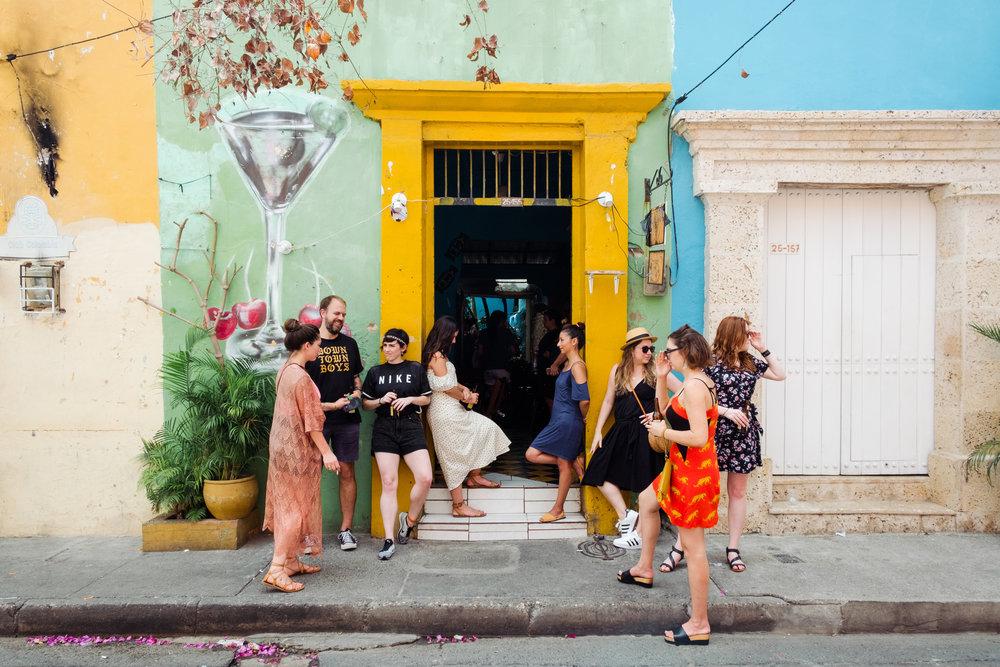 El Camino Travel ProtIp: If you visit Cartagena, don't forget to visit the up and coming neighborhood of Getsemani. Photo by Amanda Villarosa for El Camino Travel