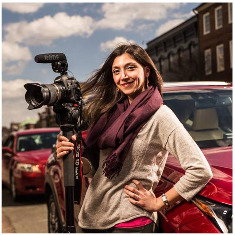 Serena, our media producer