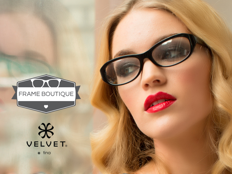 "Frame Boutique- A ""Velvet"" Exclusive Retailer offering outstanding customer service and professionalism"