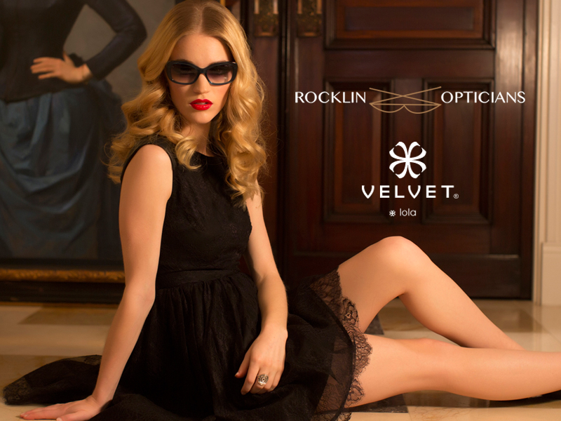 """ We are a family owned and operated, focused on exceptional customer service. And that service is personalized."" A quote from George Lara of Rocklin Opticians of Montclair, New Jersey. Rocklin Rocks Velvet!"