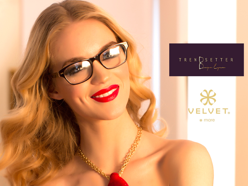 Trend Setter Designer Eyewear in Las Vegas, NV has the most beautiful store and owner, Cynthia!
