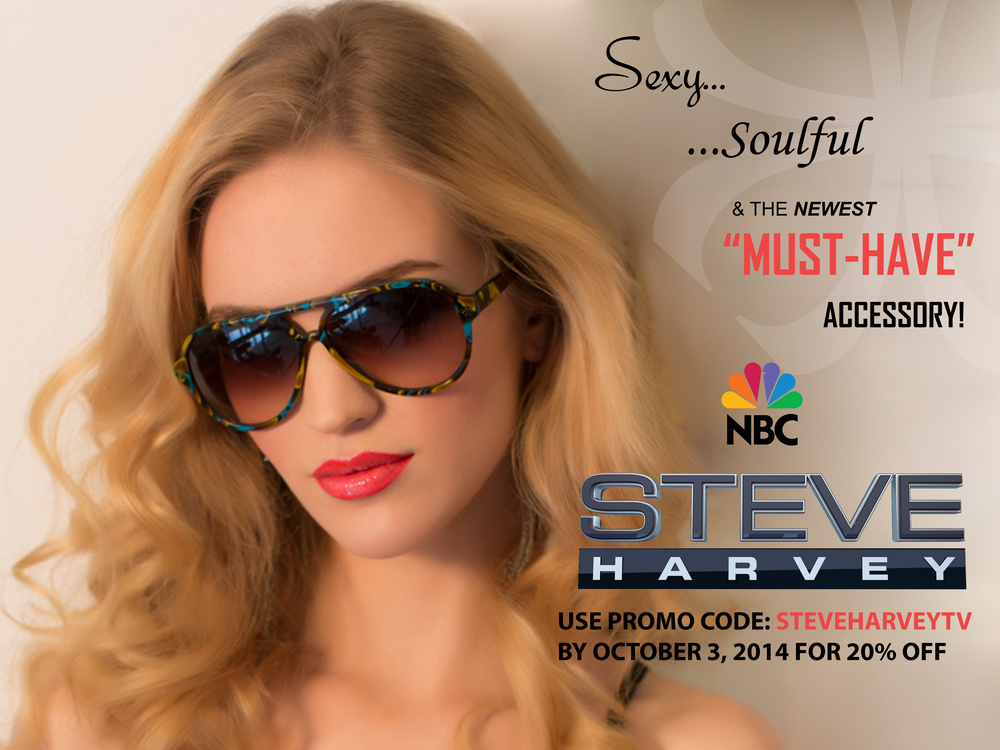 VELVET WAS FEATURED ON THE STEVE HARVEY SHOW TODAY!!! LET'S CELEBRATE! USE PROMO CODE: STEVEHARVEYTV BY OCTOBER 3, 2014 TO RECEIVE 20% OFF YOUR ENTIRE ORDER!!!