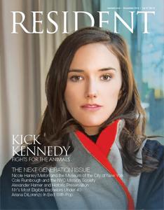 Velvet featured in Resident Magazine Dec. '14