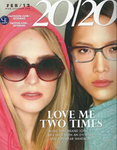 """Velvet Eyewear in """"20/20"""" Magazine"""