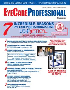 """Velvet in """"EyeCare Professional"""" Magazine"""