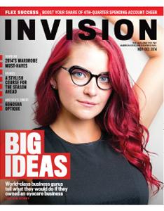 Velvet Eyewear in INVISION Magazine- Nov. '14