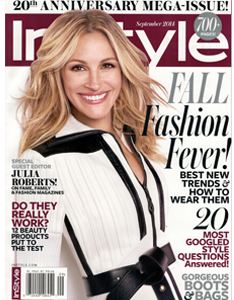 "Velvet's ""MOST GOOGLED""  InStyle's Digital Issue & ""Bella"" in Black, by Velvet, featured in InStyle Sept. '14"