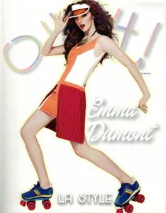 """Emma Dumont wearing Velvet in """"Ouch"""" Magazine- Feb. '14"""