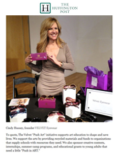 Velvet featured in Huffington Post Blog