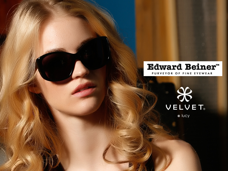 Shop at Edward Beiner for the latest Velvet Sunglass styles. When it comes to personal attention, Edward Beiner's technically-trained and fashion-savvy eyewear specialists subscribe to the simple philosophy that each customer is their most important customer, ensuring that your shopping experience is second to none