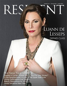 Velvet featured in Resident Magazine Jan. 2015