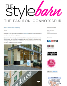 Velvet featured on The Style Barn fashion blog Feb. 2015