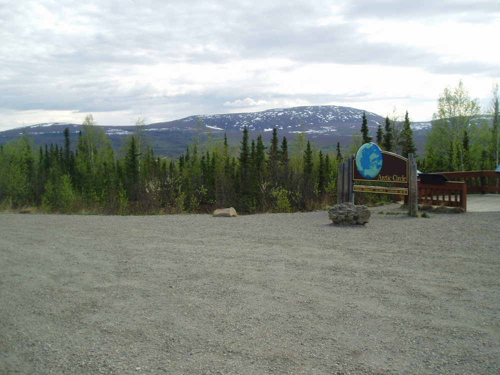 """""""Arctic Circle Overnight"""" - We'll transport you to the Arctic Circle Wayside. Camp overnight. Arrive approx. 11:00 am. Depart the following day at approx. 5:00 pm."""
