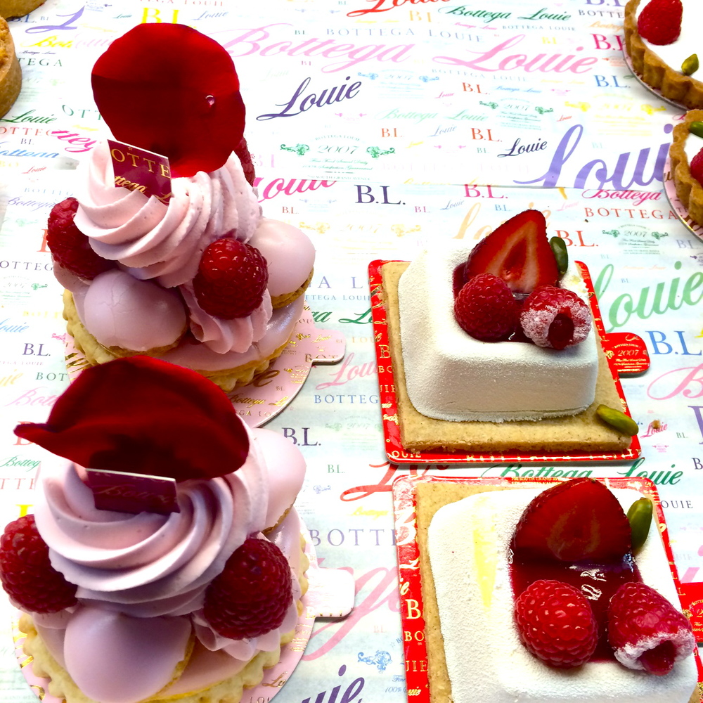a visit to the fab Bottega Louie
