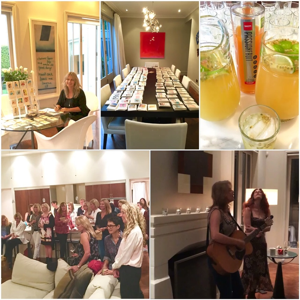 Such a fun and beautiful evening of cards, cocktails and friends!