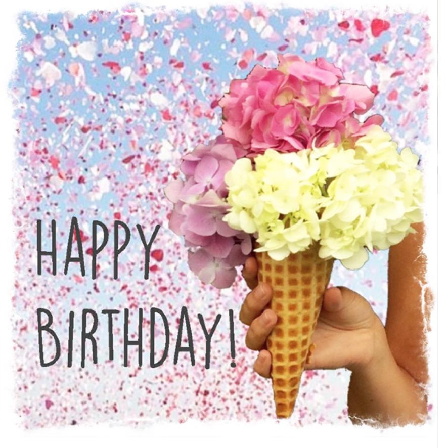 Ice Cream Happy Birthday