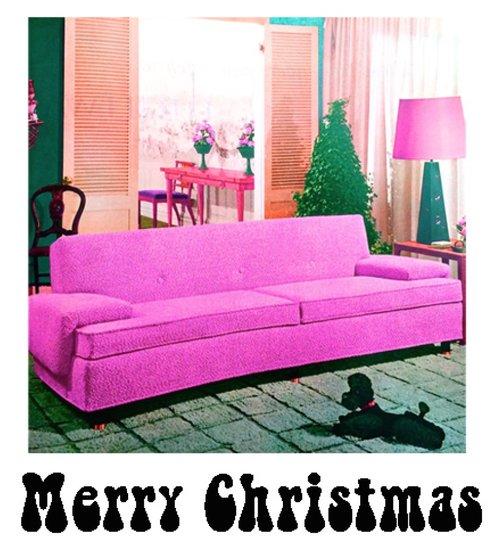 Retro Merry Christmas...Palm Springs, baby! X-54 — PaperLove Boutique