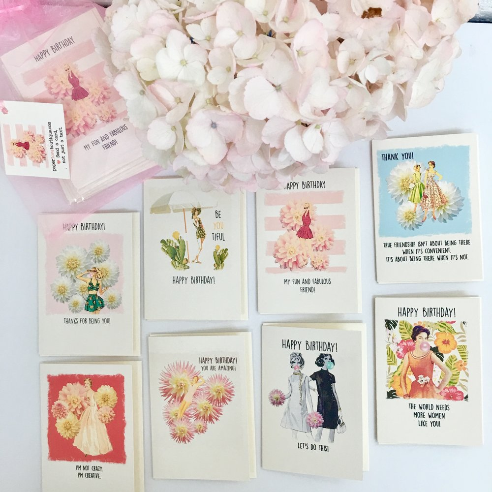 Set Of 8 BIRTHDAY Cards 6so Youre Never Caught Empty Handed