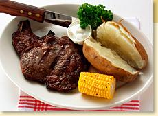 Steak with Oregano Rub
